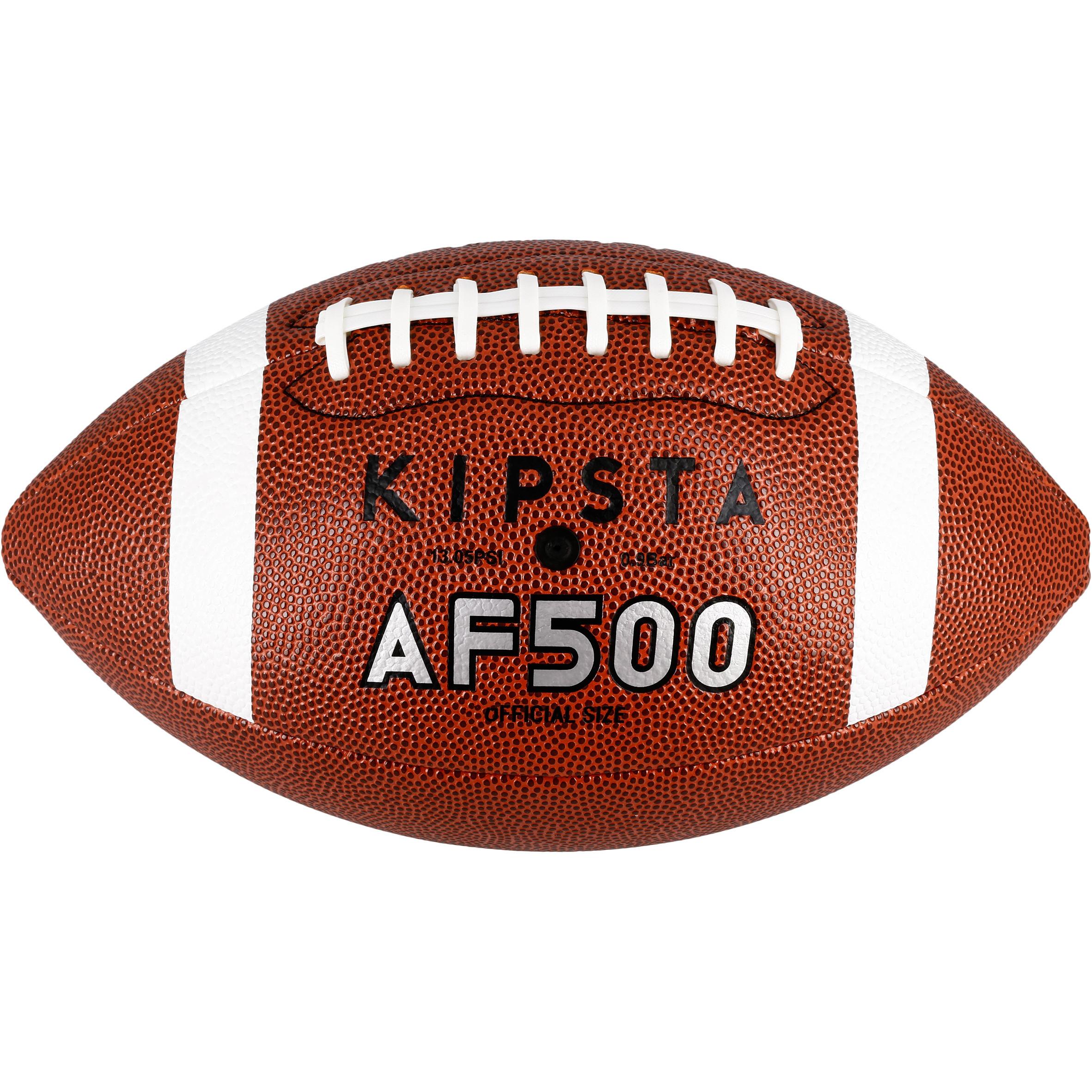 Ballon de football AF 500 taille officielle brun
