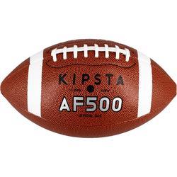Ballon de football américain AF500 en taille officielle marron