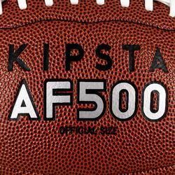 Balón Fútbol Americano Kipsta AF500 Talla Oficial Marrón