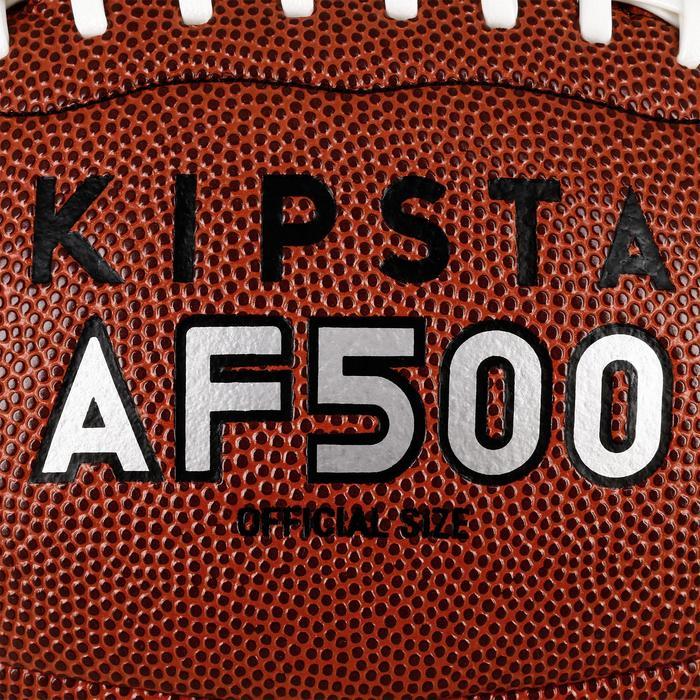 Balón de fútbol americano AF500 de talla oficial marrón