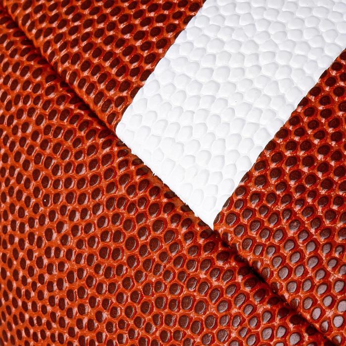 Balón de fútbol americano AF500 de talla Youth marrón