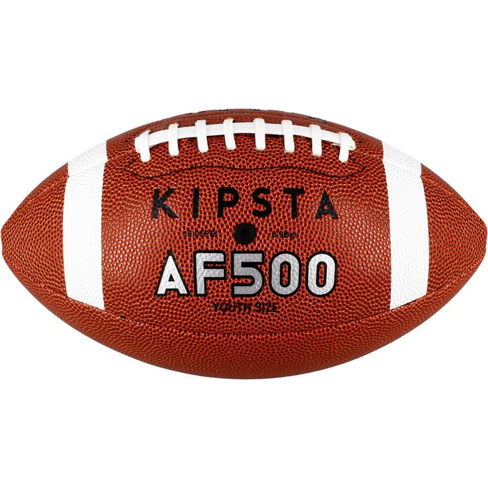 Ballon de football américain en taille youth AF500 marron