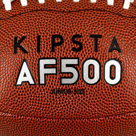 Balón AF500 de futbol americano café talla junior