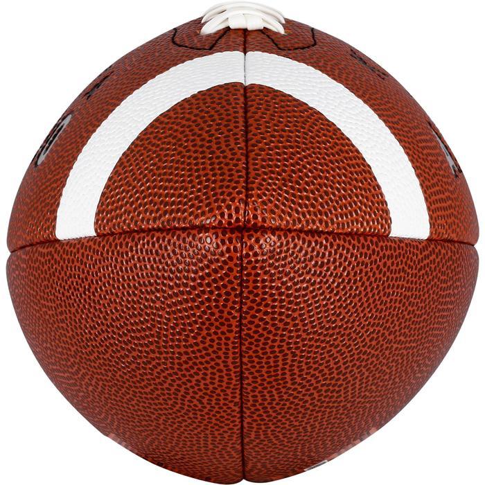 Balón AF500 de fútbol americano talla junior marrón