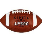 Rjava žoga za ameriški nogomet AF500 za otroke