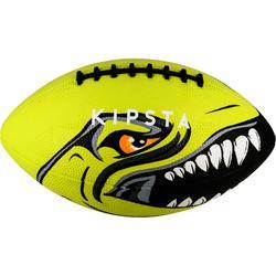 Balón de fútbol americano AF100 talla júnior verde