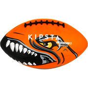 Žoga za ameriški nogomet AF100 za otroke - oranžna
