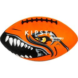 Bal American football kindermaat AF100 oranje