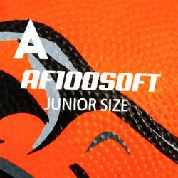 Balón de fútbol americano talla junior AF100 naranja