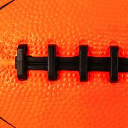 Ballon de football américain AF100 en taille enfant orange