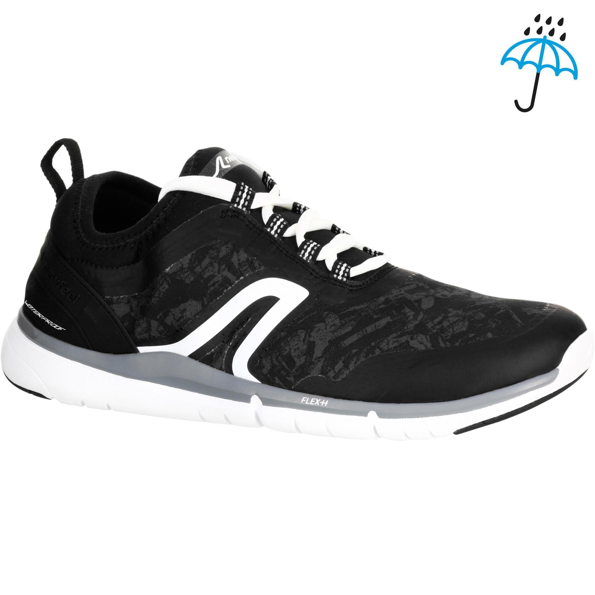 chaussures marche sportive homme pw 580 plasmadry noir newfeel. Black Bedroom Furniture Sets. Home Design Ideas