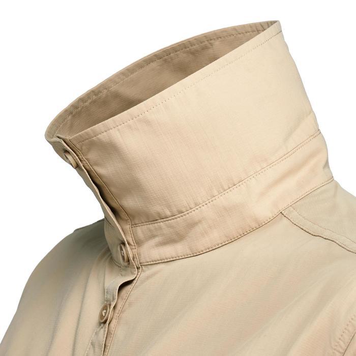 Chemise manches longues de Trekking désert DESERT 500 femme beige - 1307956