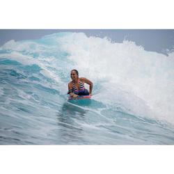 "Bodyboard 900 azul Altura 1,55m - 1,70m 40"" + leash"