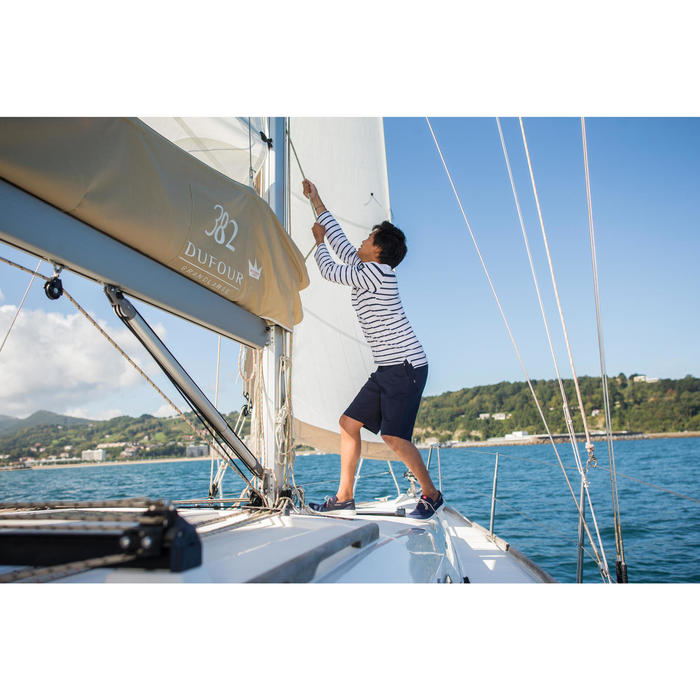 Bermuda zeilen Aventure 100 heren grijs