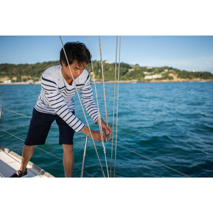 100 Men's Sailing Bermuda Shorts - Beige - 1308183