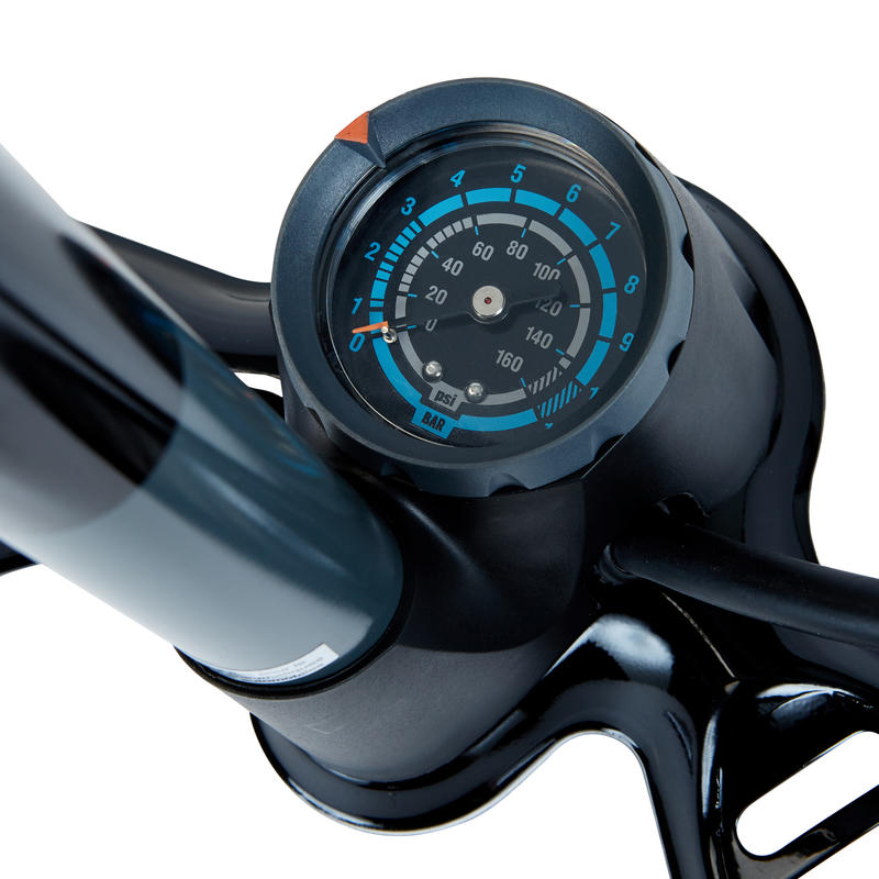 Floor Bike Pump 900 - Black