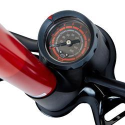 Fahrradpumpe Standpumpe 900 rot