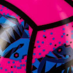 Minibalón de voley playa BV100 rosa y azul