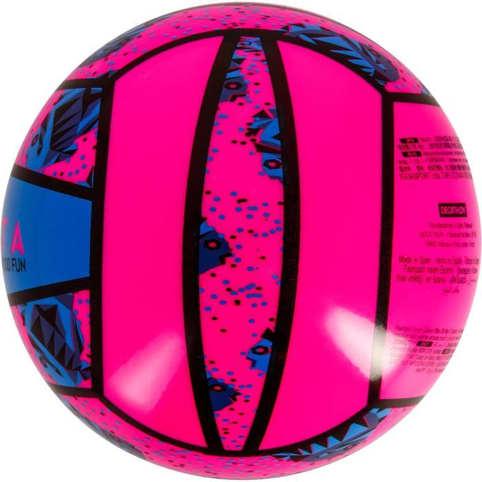 Mini-Beachvolleyball BV100 rosa/blau