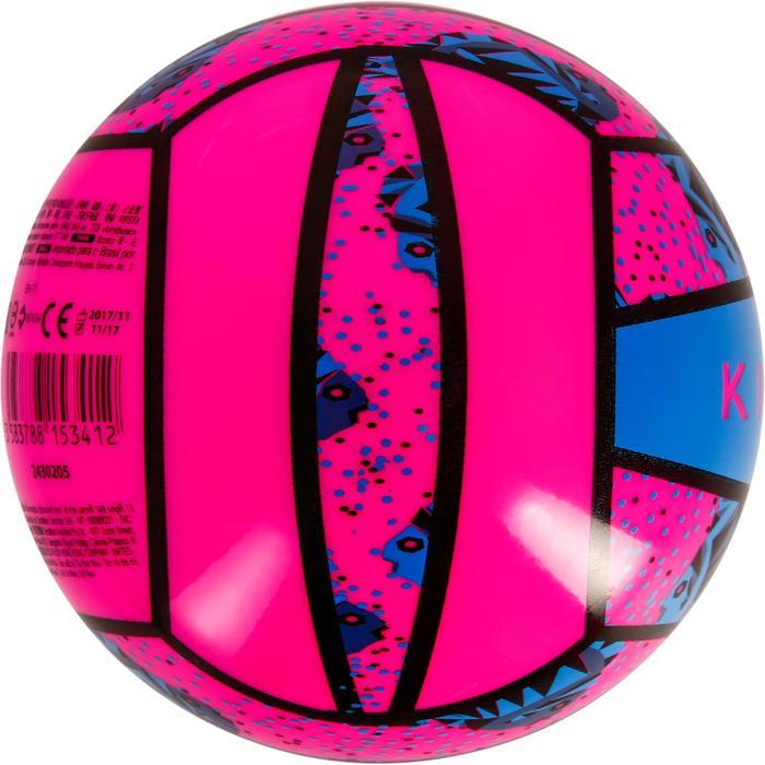 Mini ballon de beach-volley BV100 jaune et - 1308335