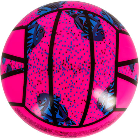 BV100 Mini Beach Volleyball - Pink/Blue
