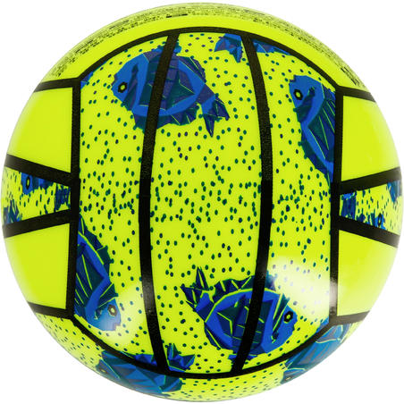 BV100 Mini Beach Volleyball - Yellow/Green