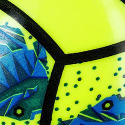 Minibalón de voley playa BV100 amarillo y verde