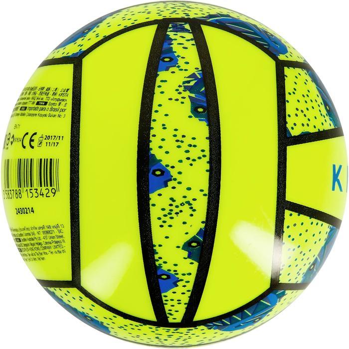 Mini ballon de beach-volley BV100 jaune et - 1308342