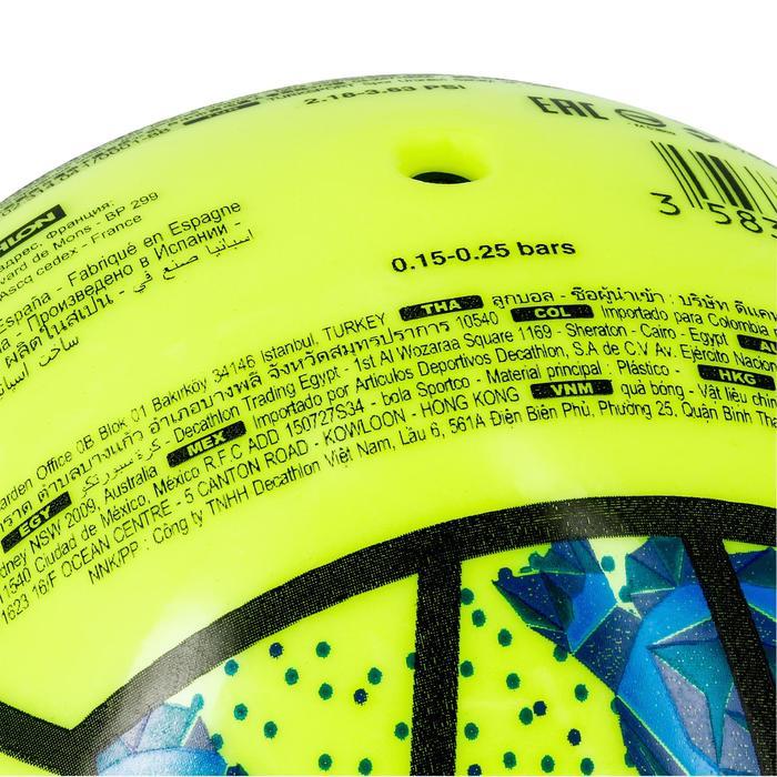 Mini ballon de beach-volley BV100 jaune et - 1308343
