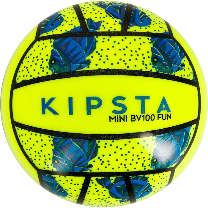 Mini ballon de beach-volley BV100 jaune et - 1308345