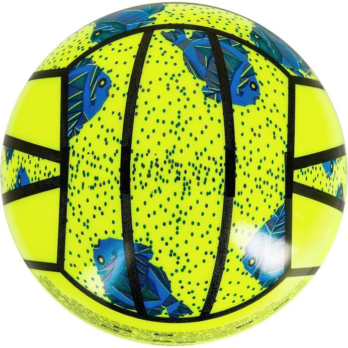 Mini ballon de beach-volley BV100 jaune et - 1308346