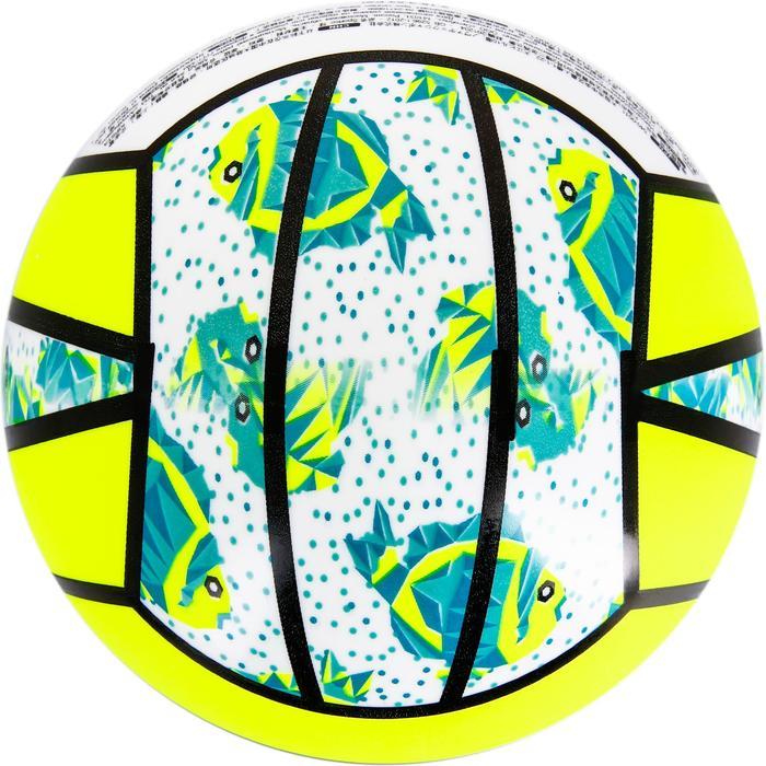 Mini ballon de beach-volley BV100 jaune et - 1308354