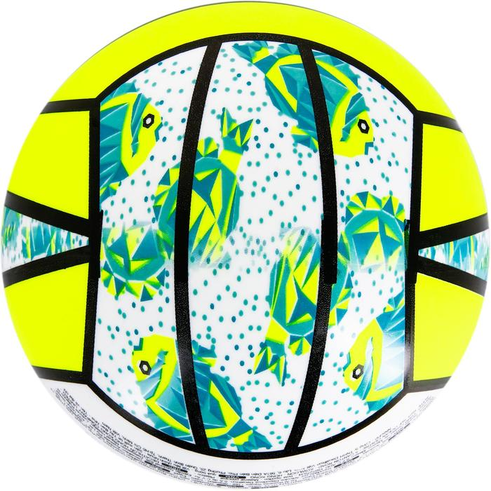 Mini ballon de beach-volley BV100 jaune et - 1308357