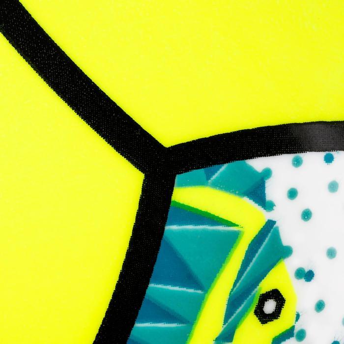 Minibal Beachvolley BV100 wit en geel