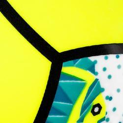 Minibalón de voley playa BV100 verde fluo