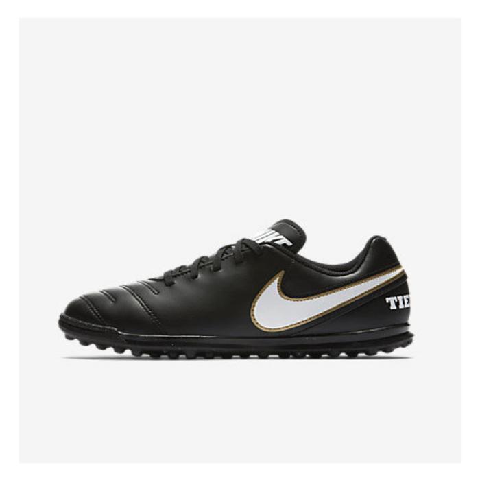 Chaussure de football enfant Tiempo X Rio TF noire