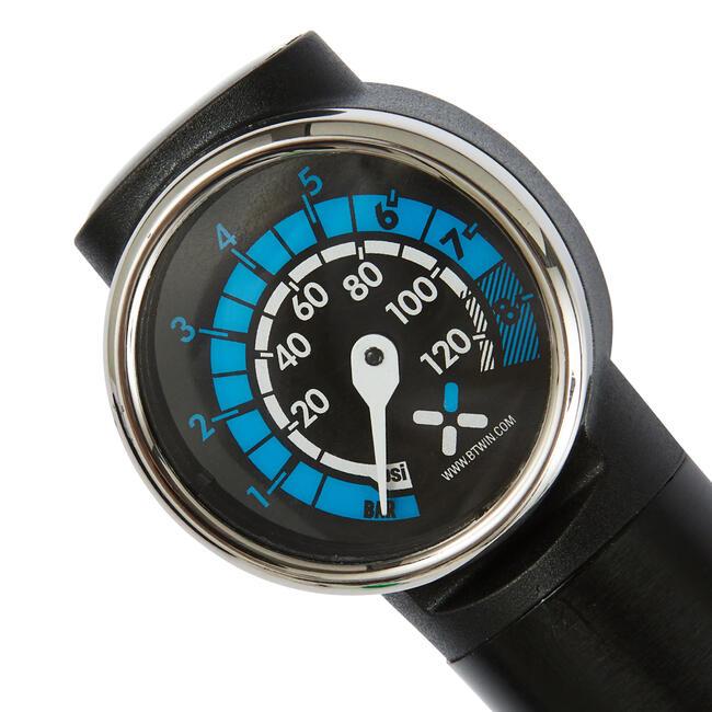 920 Telescopic Hand Pump with Pressure Gauge