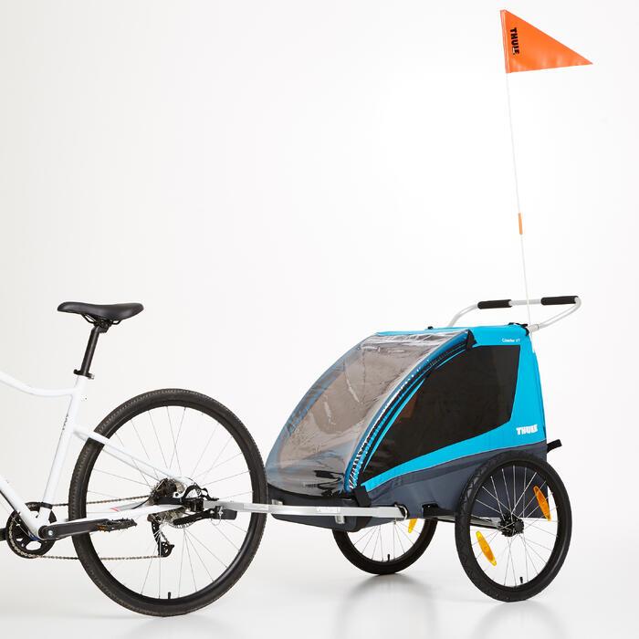 Kinderfahrrad-Anhänger und Sportbuggy Coaster XT