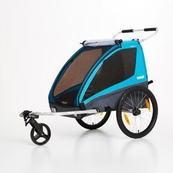Remolque para bici infantil y carrito de paseo multideporte Thule Coaster XT