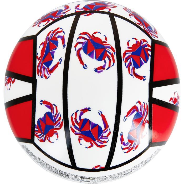 Mini ballon de beach-volley BV100 jaune et - 1308664