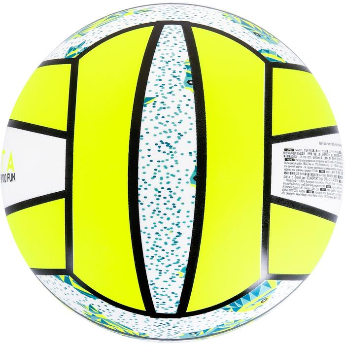 Ballon de beach-volley BV100 jaune et - 1308673