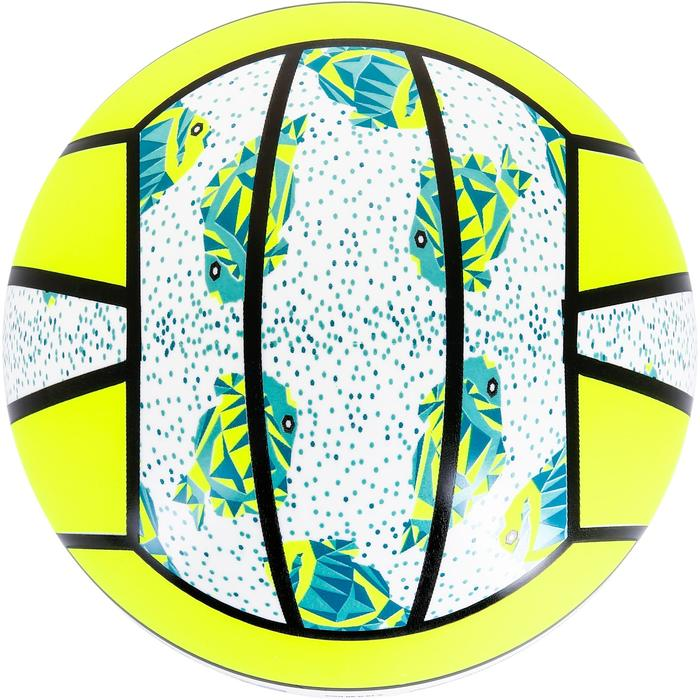 Ballon de beach-volley BV100 jaune et - 1308677