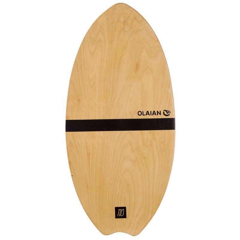 SKIMBOARDS Surf - SKIMBOARD 500 WOOD ADULT OLAIAN - Surf