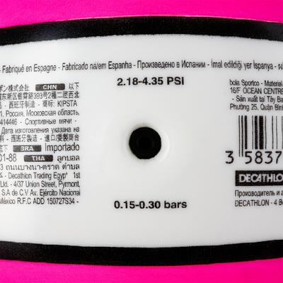 Ballon de beach-volley BV100 blanc et rose