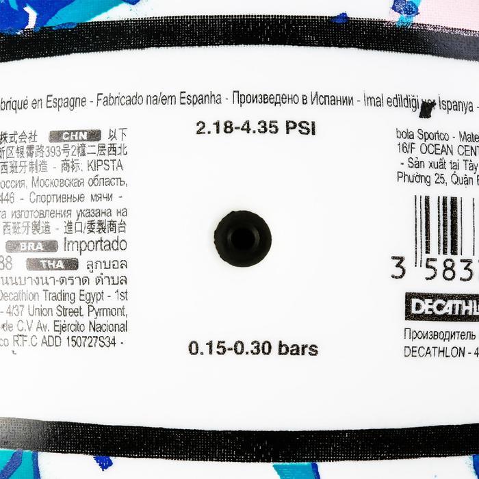 Balón de voley playa BV100 blanco y azul