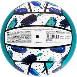 Ballon de beach-volley BV100 blanc et vert