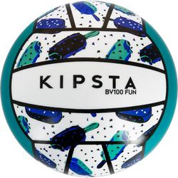 Ballon de beach-volley BV100 jaune et