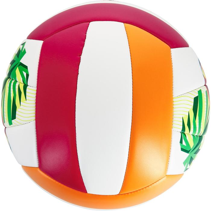 Ballon de beach-volley BV100 toucan rose