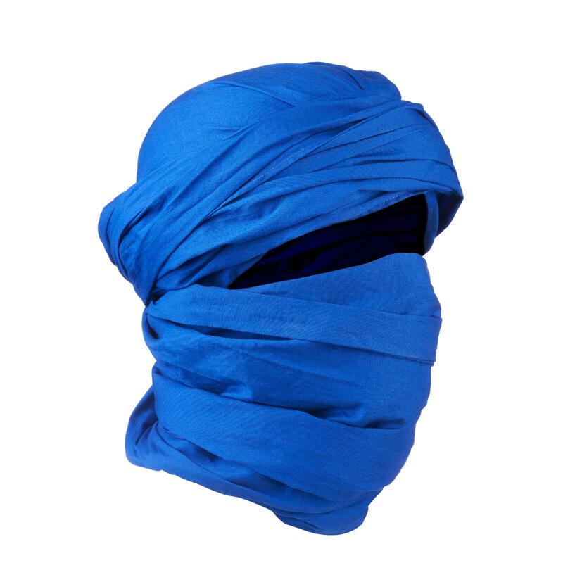 Desert 500 Trekking Desert Scarf - Blue