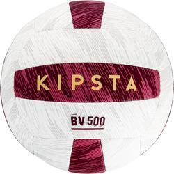 Balón Vóley Playa Copaya BV500 Blanco Rosa